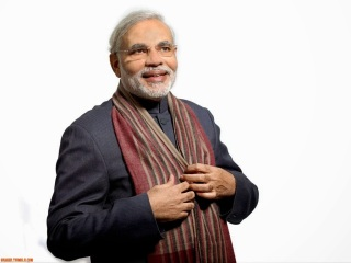 The Best Narendra Modi in Suit Smiling Hd 1024×768 Desktop Wallpapers